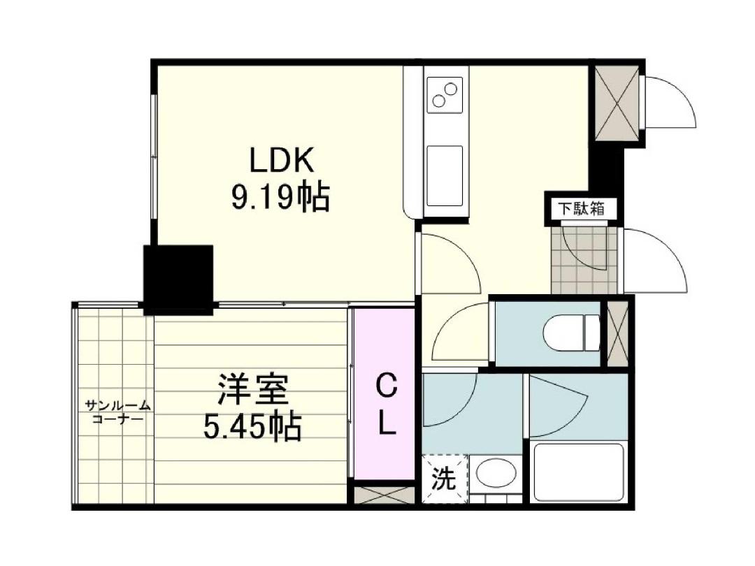 谷山中央5号室